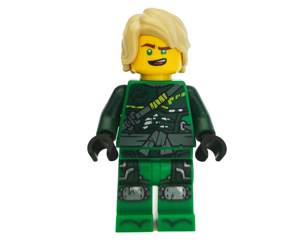 LEGO Set fig-002819 Lloyd with Hair (Hunted) (2018 Ninjago ...