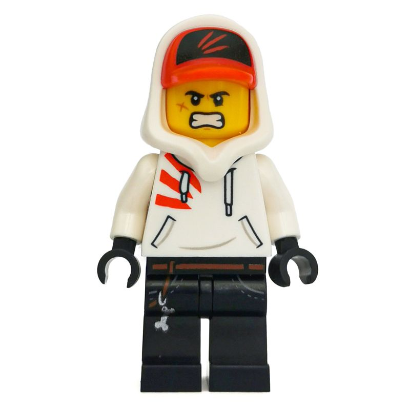 double sided face Lego NEW Jack Davids Minifig from 70420