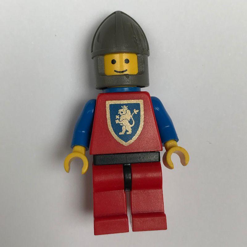 Red Knight Lion Drapeaux X 3-pour Knight minifigures accessoires-Uni.