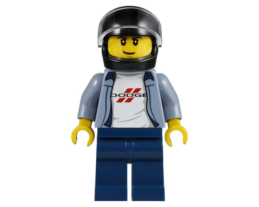 2 Piece F9 # LEGO FIGURE MINIFIG RACING DRIVER Caprylic Racing 2998 973px36
