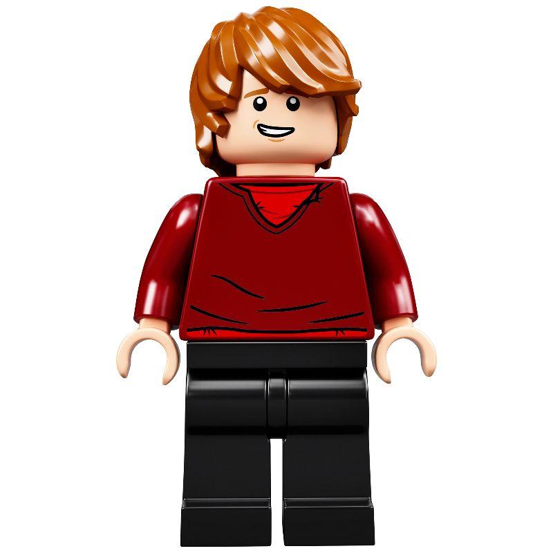 Harry Potter Figure Lot 4841 Red Tartan Vest Shirt Lego Ron Weasley Minifig
