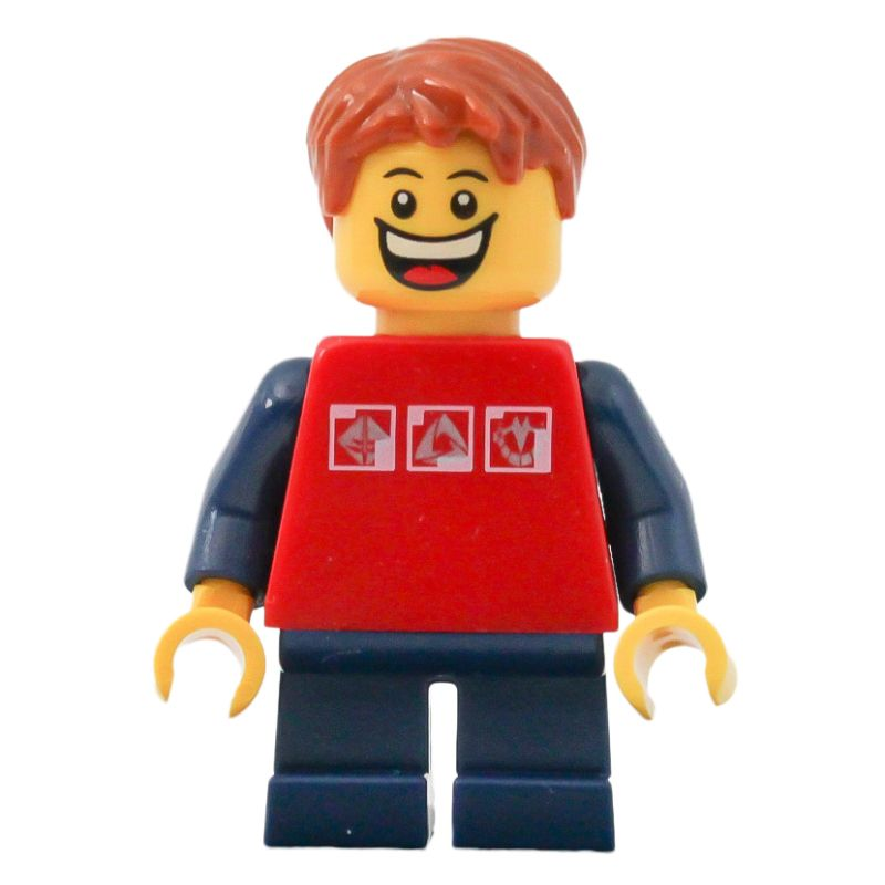 1x Lego Homemaker Large Head Figurine Woman Mother Child Red Arms kurzx 196 685px1c01