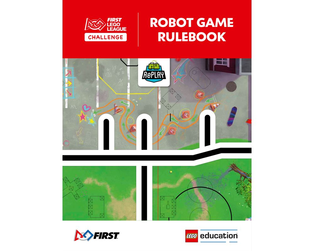 LEGO Set FLLCGAMEGUIDE2020-1 RePLAY Robot Game Rulebook (2020 FIRST LEGO League) | Rebrickable - Build with LEGO