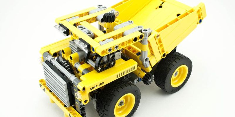 Review - 42035 Mining Truck   Rebrickable - Build with LEGO