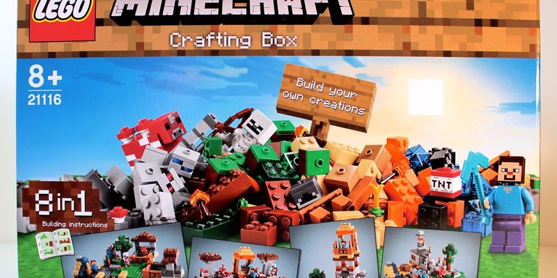 Review 21116 Minecraft Crafting Box Rebrickable Build