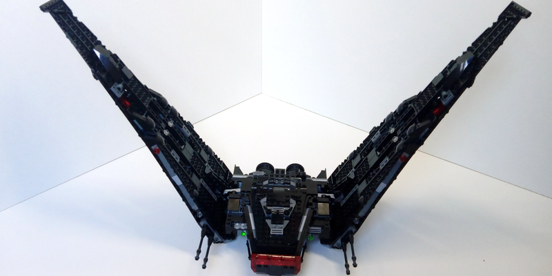 Review 75256 1 Kylo Ren S Shuttle Rebrickable Build With Lego