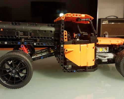 Technic moc 19885 porsche fun truck by nobsta mocbrickland