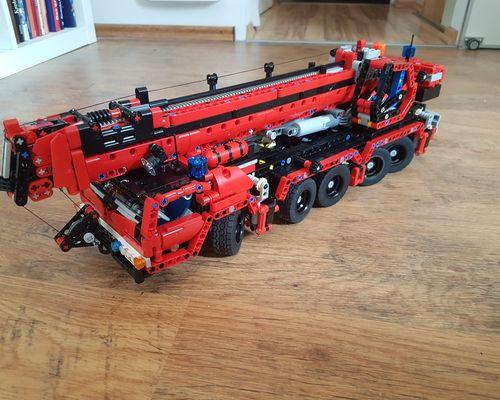 TECHNIC MOC 8316 Five Axle Crane by ErikLeppen MOCBRICKLAND
