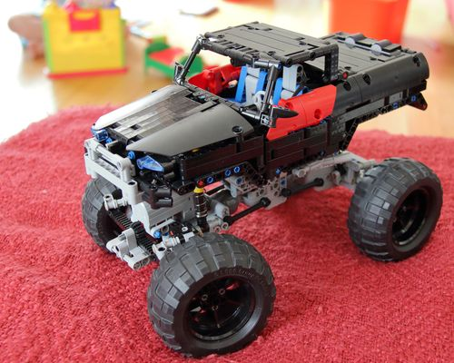 TECHNIC MOC 1519 Trial Truck 4x4 by Madoca1977 MOCBRICKLAND