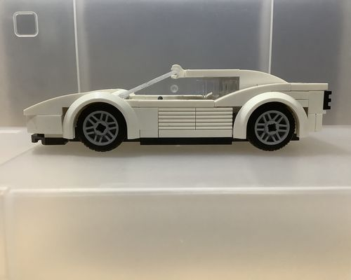 CITY SERIES MOC-16979 Miami Vice Testarossa by Jerrybuildsbricks MOCBRICKLAND