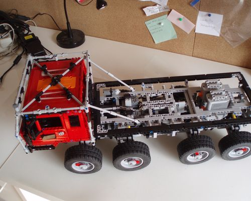 TECHNIC MOC 1963 Tatra 813 Trial Truck by Madoca1977 MOCBRICKLAND