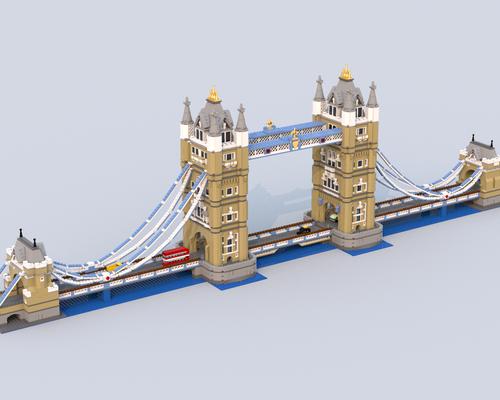 LEGO MOC 12269 London Tower Bridge Extension Creator 2018 ...